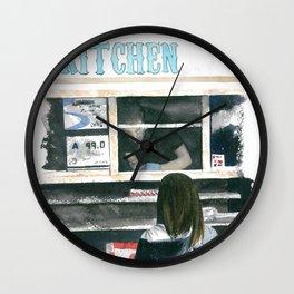 Food Truck Wall Clock