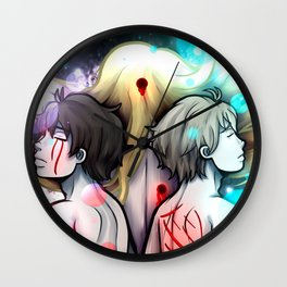 Old Wounds Wall Clock