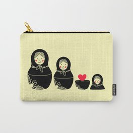 Love Inside Carry-All Pouch
