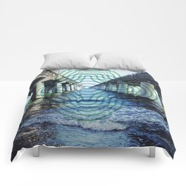 Chesapeake Bay Bridge Comforters
