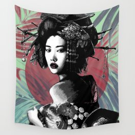 Suspended Time Wall Tapestry