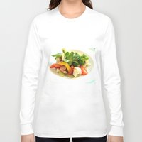 cooking Long Sleeve T-shirts featuring COOKING MASTER by OeildePHI