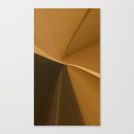 shapes and browns abstracts Canvas Print