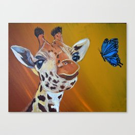 Your spots are beautiful Canvas Print