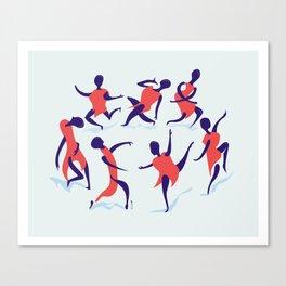 alors on danse Canvas Print