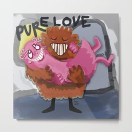 Pure Love Metal Print