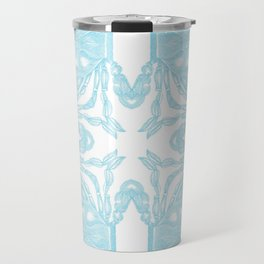 Crab Kaleidoscope Travel Mug