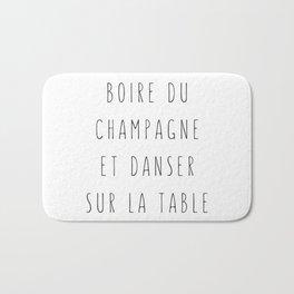 Champagne ! Bath Mat