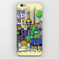 vienna iPhone & iPod Skins featuring Vienna  by Aleksandra Jevtovic
