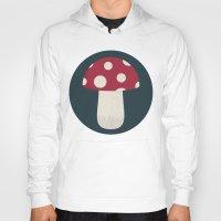 mushroom Hoodies featuring mushroom by Emma S