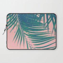 Palm Leaves Blush Summer Vibes #2 #tropical #decor #art #society6 Laptop Sleeve