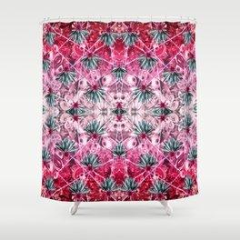 Jungle Eye Grid - Symmetry Shower Curtain