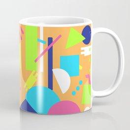 Postmodern Sea ll in Neon 90's Coffee Mug