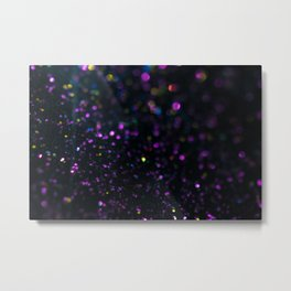 Abstract Purple Wallpaper Metal Print
