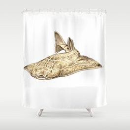 Angel shark Shower Curtain