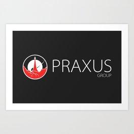 Praxus Wordmark Art Print
