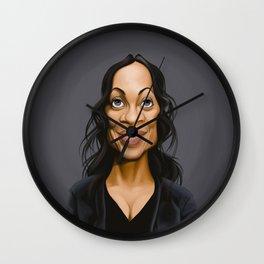 Celebrity Sunday ~ Rosario Dawson Wall Clock