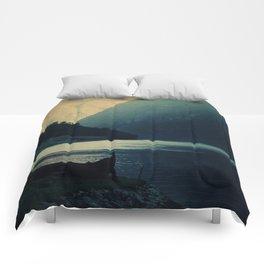 mountains VI Comforters