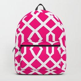 Grille No. 3 -- Magenta Backpack