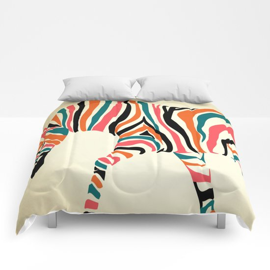 zebra animals  Comforters