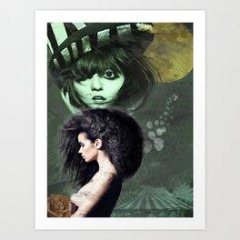 Cirque de la Lune, Pt. 1 Art Print
