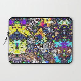 Colorful Web of Geometry Laptop Sleeve