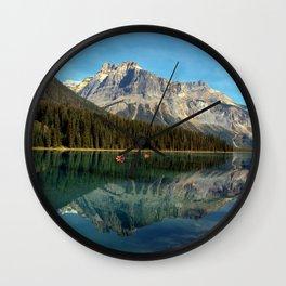 Emerald Lake Wall Clock