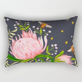 Honey Moon Bee Rectangular Pillow
