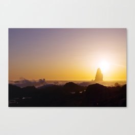 Catching the Sun | Ocean Photography Canvas Print