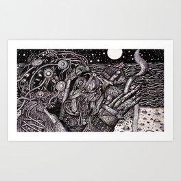The Deep End (Still Frame 1) Art Print