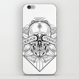 Courage Is What You Need iPhone Skin