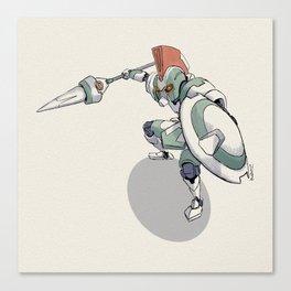 Knight Robo THETA Canvas Print