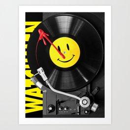 """""""Bloody Turntable"""" Watchmen fan art Art Print"""