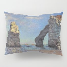 Claude Monet's The Cliffs at Etretat Pillow Sham