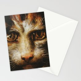 Cat in the art - Giuio Romano – the lady with the cat Stationery Cards