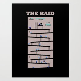 The Raid Art Print