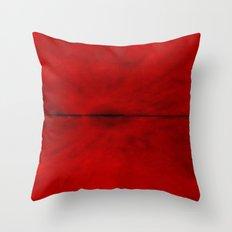 Red Eye Throw Pillow