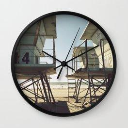 Oceanside Beach Wall Clock