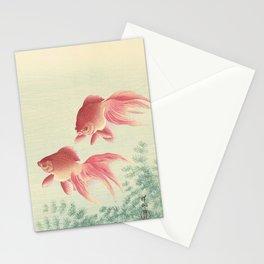 Goldfish - Vintage Japanese Woodcut Stationery Cards