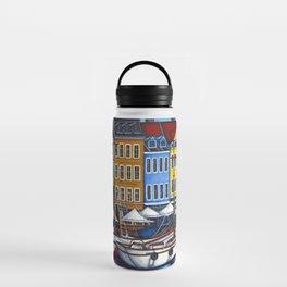 Colours of Nyhavn Water Bottle