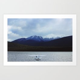 Still Water (Te Anau, New Zealand) Art Print