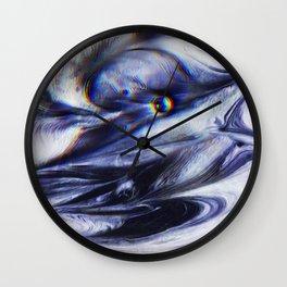 Liquid Obsidian Wall Clock