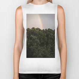 This Phenomenon is caused by Reflection, Refraction and Dispersion Biker Tank
