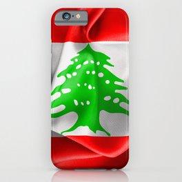 Lebanon Flag iPhone Case