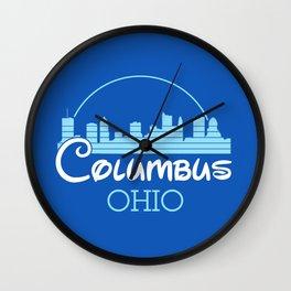 Columbus, Ohio Wall Clock