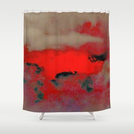 GAMMA RAYS Shower Curtain