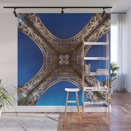 Eiffel Tower From Below Wall Mural