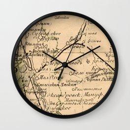 Mapped Wall Clock
