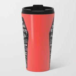 Life asked death... Travel Mug