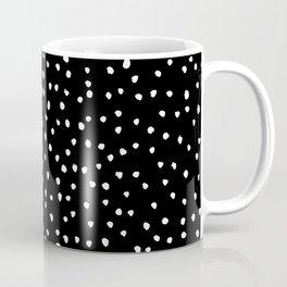 Polka Spots – Black & White Coffee Mug
